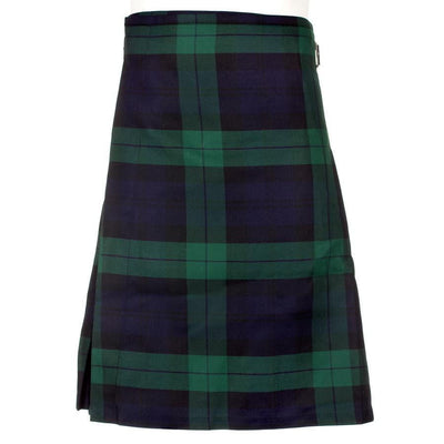 Men's Kilt - Polyviscose Party Kilt - Black Watch Modern