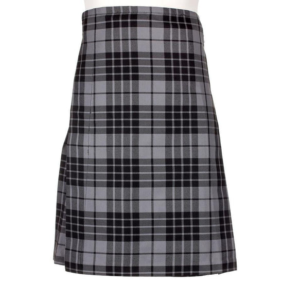 Men's Kilt - Polyviscose Party Kilt - Grey Granite