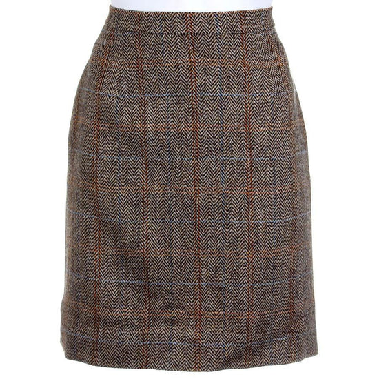 Ladies Tweed Made to Measure Straight Skirt