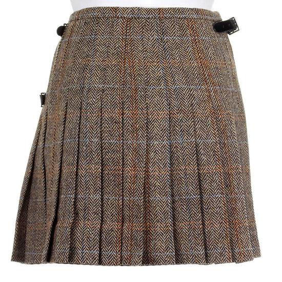 Ladies Tweed Made to Measure Bronwyn Style Kilt
