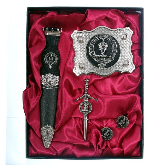 Clan Crested 4 Piece Gift Set - Made to Order