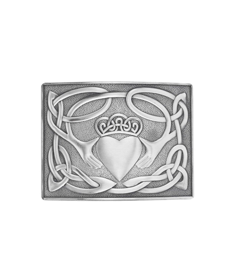 Antique Claddagh Buckle