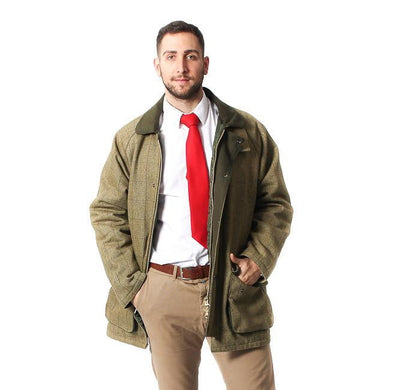 Men's Derby Tweed Jacket - Sage