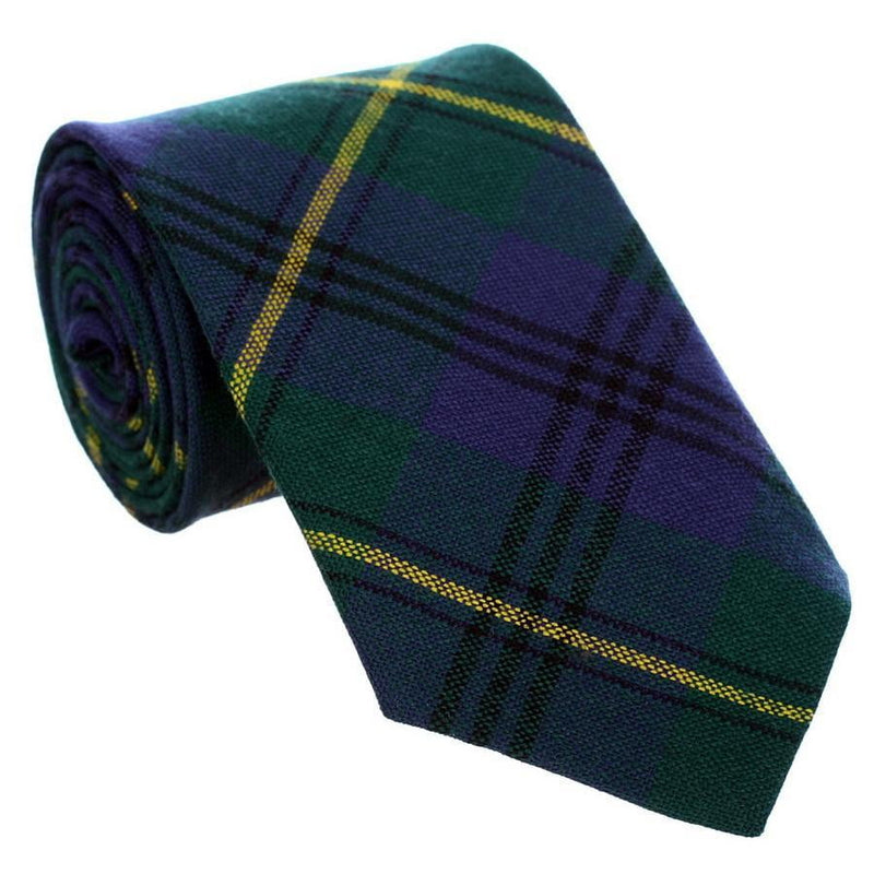 100% Wool Tartan Neck Tie - Johnston Modern