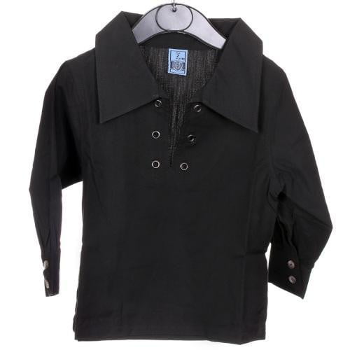Ghillie Shirt, Boy's, Black