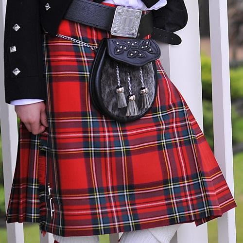 Boys Economy Polyviscose Made to Measure Kilt - Available in over 100 Tartans