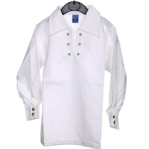 Ghillie Shirt, Boy's, White