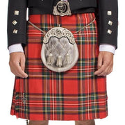 The Clansman Prince Charlie Jacket Full Dress Clan Crested Heavyweight Kilt Outfit