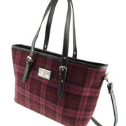 Harris Tweed Large Spey Tote Bag with Shoulder Straps - 12 Colours