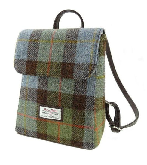 Harris Tweed Mini Backpack Tummel