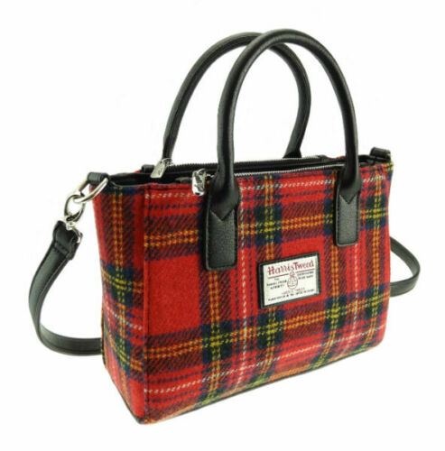 Harris Tweed Small Tote Bag - Brora