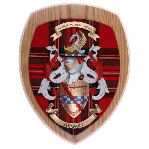 Woodcarver Coat of Arms Wall Plaque