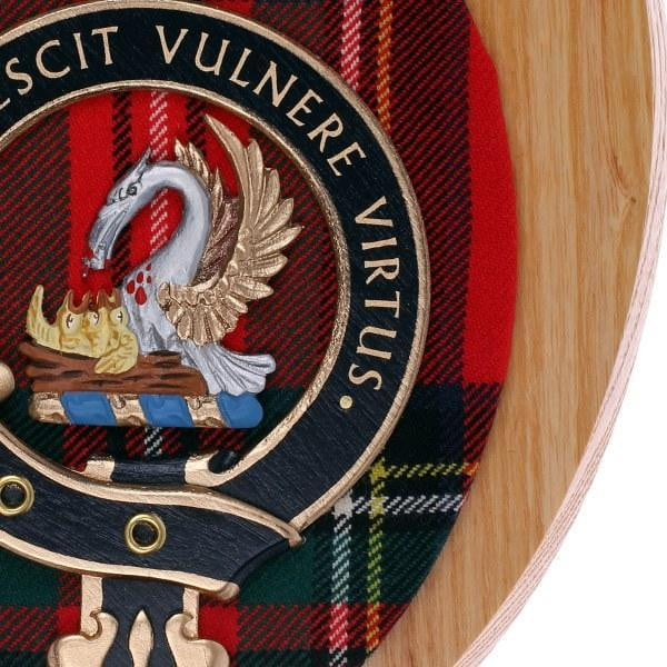 Woodcarver Clan Wall Plaque - Made to Order