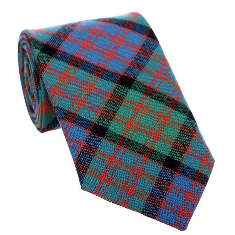 100% Wool Tartan Neck Tie - MacDonald Ancient