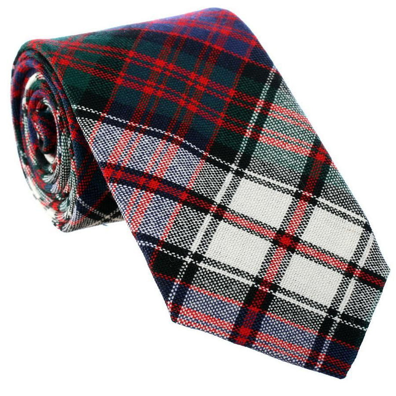 100% Wool Tartan Neck Tie - MacDonald Dress Modern