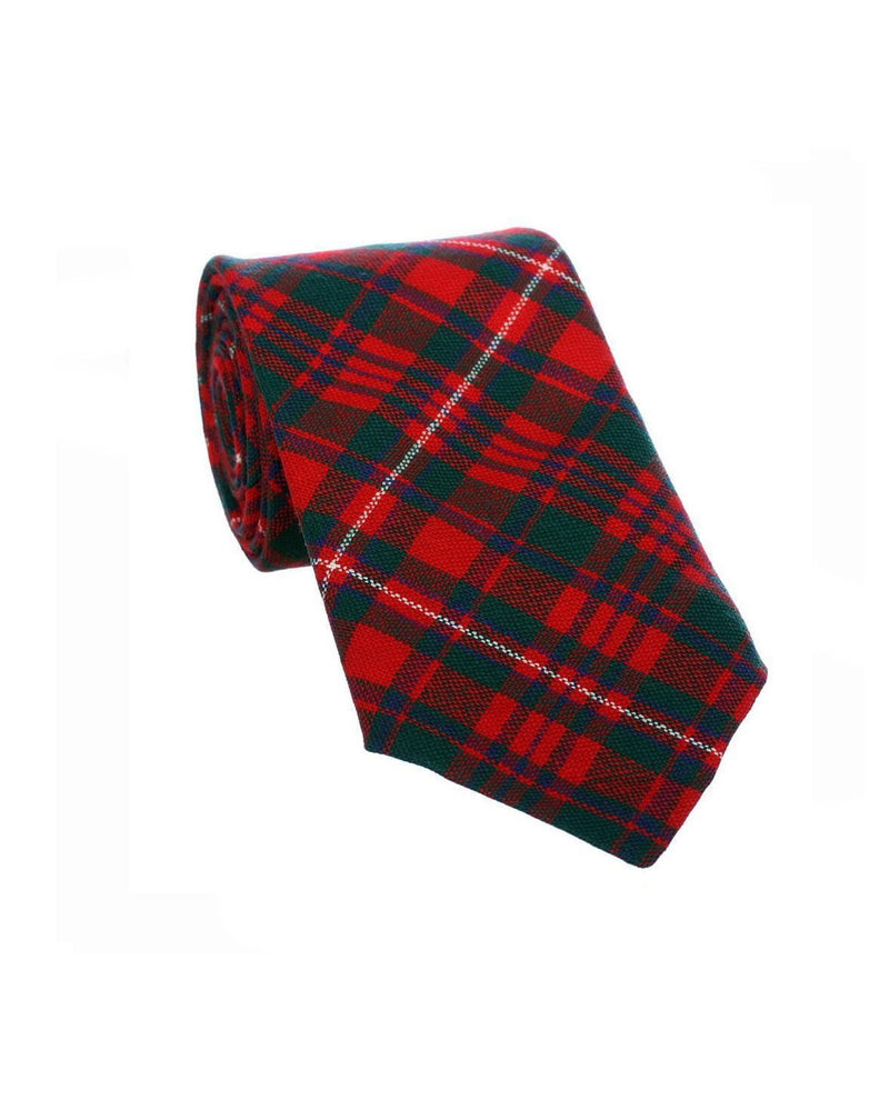 100% Wool Tartan Neck Tie - MacKinnon Modern