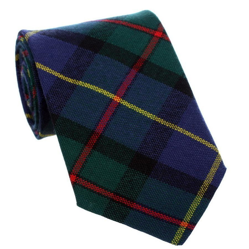 100% Wool Tartan Neck Tie - MacLeod of Harris Modern
