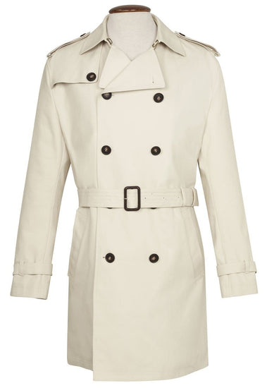 Marsland Stone Trench Coat by Brook Taverner