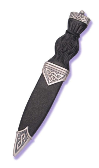 Matt Celtic Pip Top Sgian Dubh