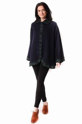 Ladies Kerry Cape - Black Watch