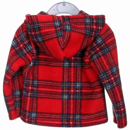 Kids Tartan Fleece Jacket, Royal Stewart