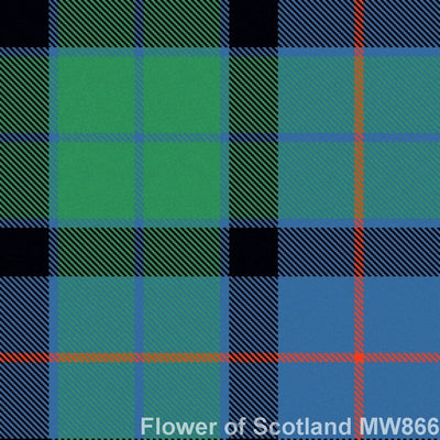 Tartan Swatch - 13oz House of Edgar Material