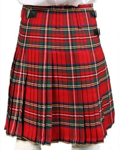 Men's 5 Yard Nevis 100% Wool Stain Resistant 16oz Heavyweight Tartan Traditional Hand Made Kilt