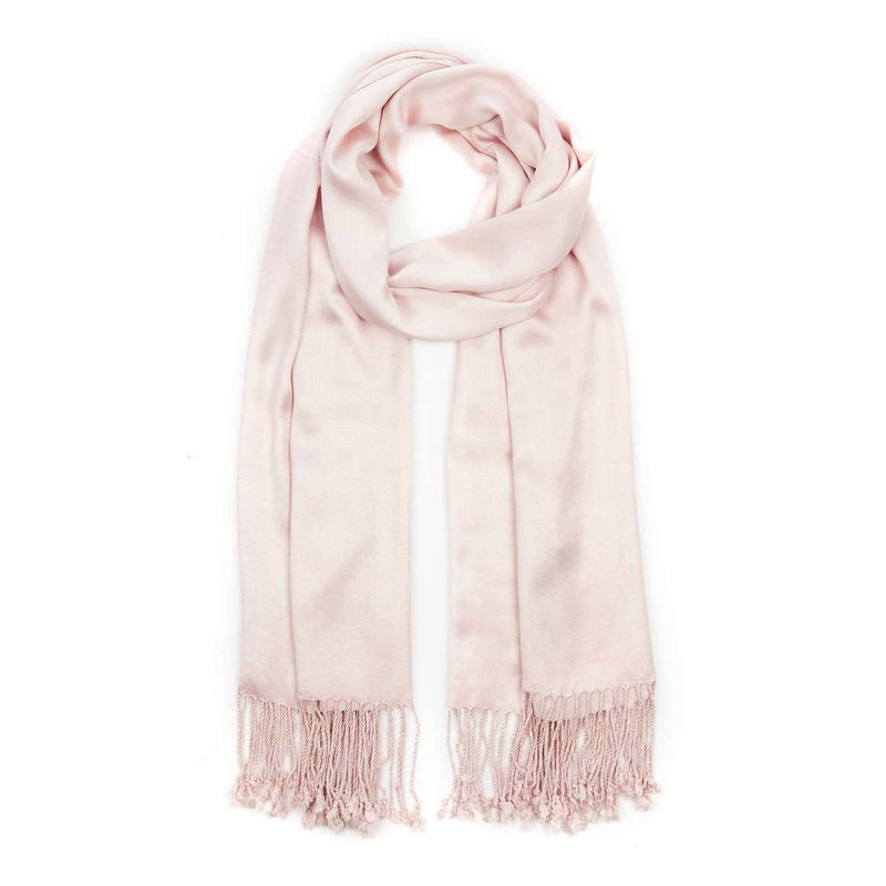 Ladies Pashmina Style Scarf in Mink