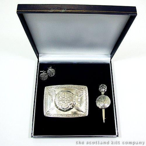 Pewter Jacobite 3 Piece Accessory Set