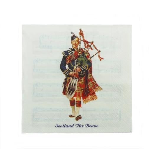 Musical Piper Serviettes (Pack of 20)