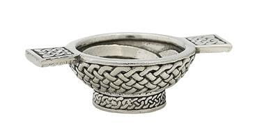 "1.25"" Mini Quaich Bowl - Celtic Design"