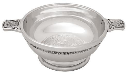 "5"" Quaich Bowl - Celtic Design"