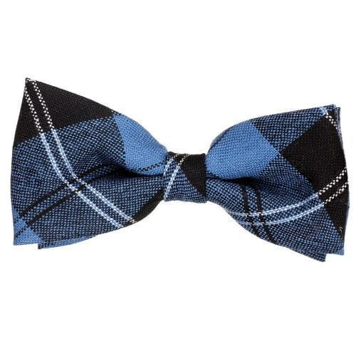 100% Wool Tartan Bow Tie - Ramsay Blue Ancient