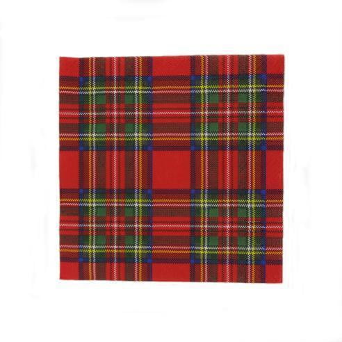 Royal Stewart Tartan Napkin Serviettes (Pack of 20)