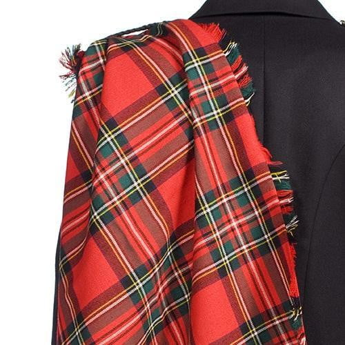 Traditional 100% Wool Fringed Fly Plaid - Made to Order