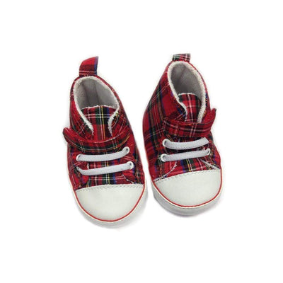 Baby and Infants Royal Stewart Tartan Baseball Boot