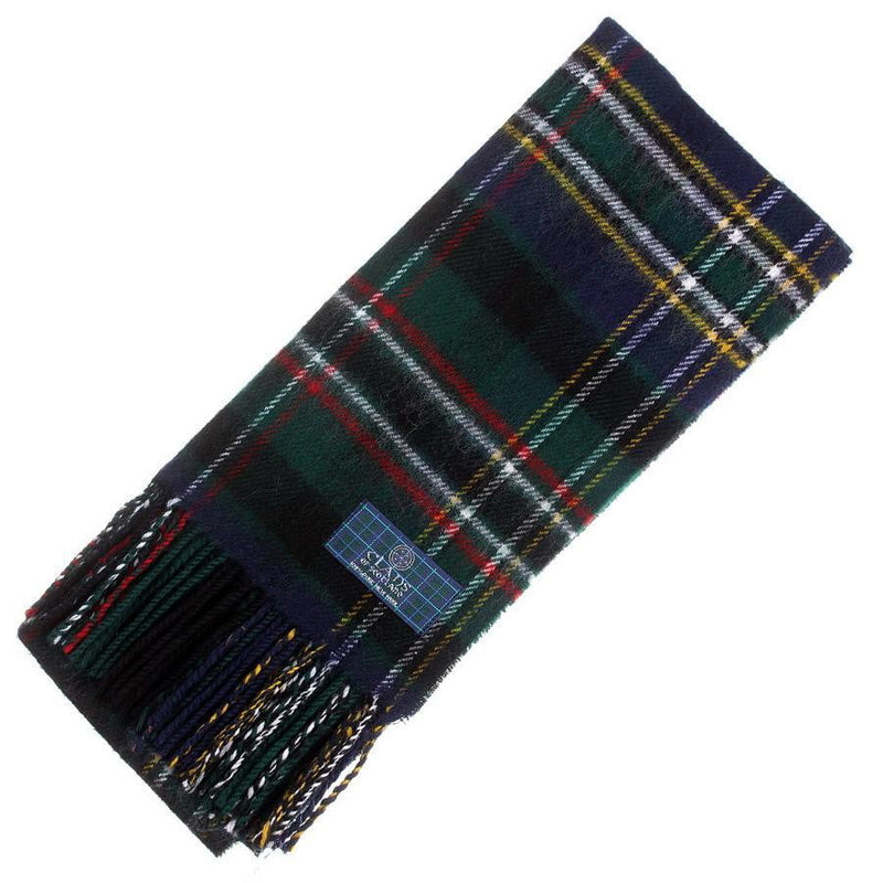 Clan Tartan Scarf - Scott Green Modern