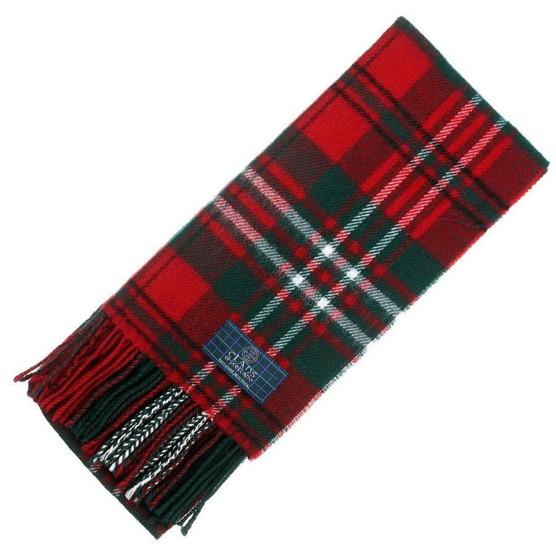 Clan Tartan Scarf - Scott Red Modern