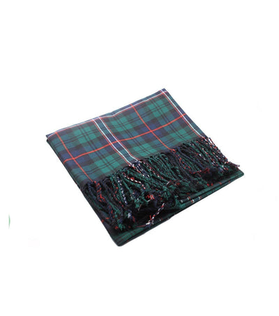 Deluxe Polyviscose Tartan Fly Plaid - Scottish National