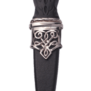 Pewter Dress Morar Sgian Dubh with Stone Hilt