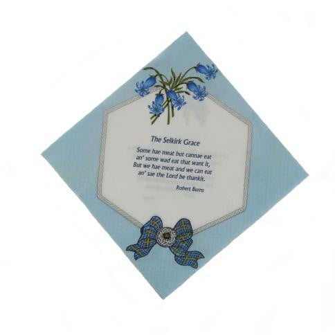 Selkirk Grace Napkins Serviettes (Pack of 20)