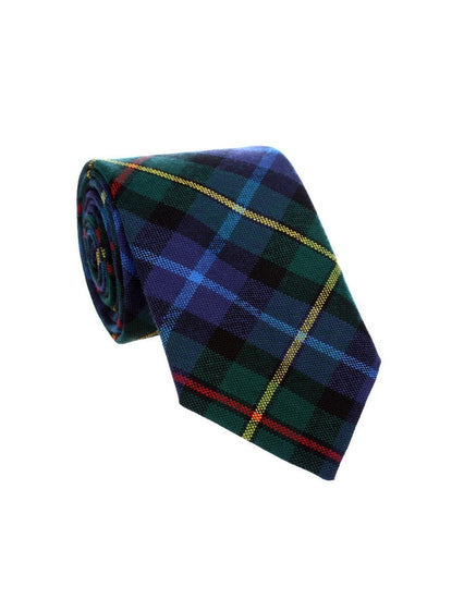 100% Wool Tartan Neck Tie - Smith Modern