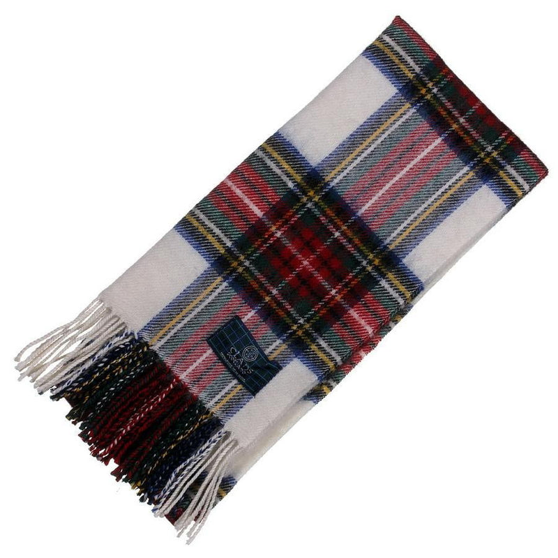 Clan Tartan Scarf - Stewart Dress Modern