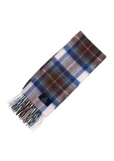 Clan Tartan Scarf - Stewart Muted Blue