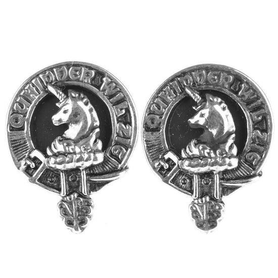 Stewart of Appin Clan Cufflinks - Made to Order