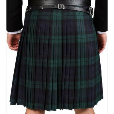 8 Yard Lochcarron Strome Kilt, Traditionally Hand Stitched