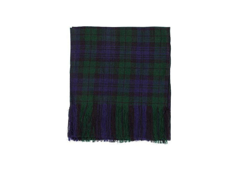 Ladies Acryllic Wool Tartan Sash - Black Watch