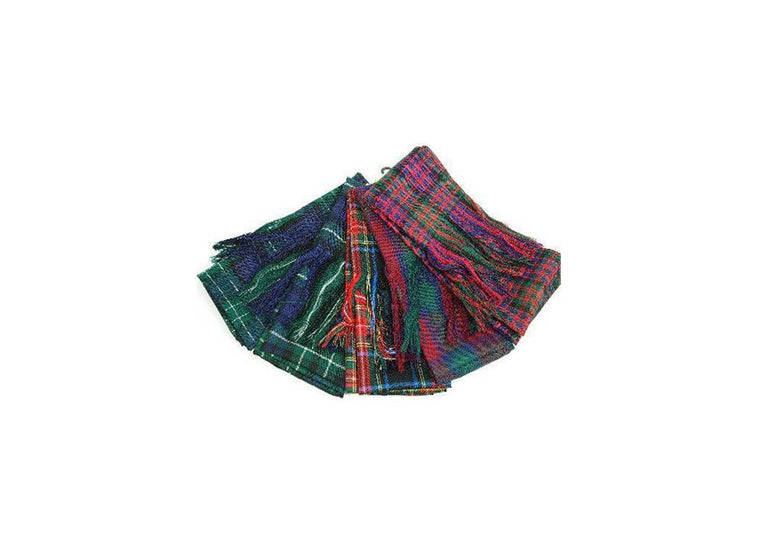 Made to Order 100% Wool Tartan Sash