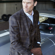 Temo Fashion Fit Check Jacket by Brook Taverner
