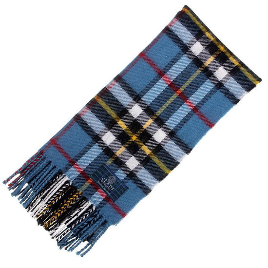 Clan Tartan Scarf - Thomson Blue
